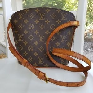 Louis Vuitton Drouot Crossbody Monogram